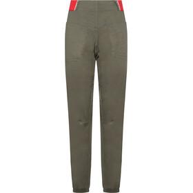 La Sportiva Tundra Pantaloni Donna, clay/hibiscus